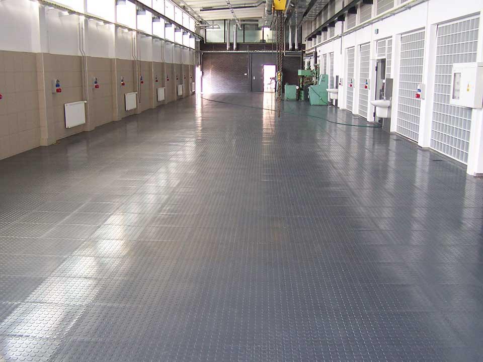 Fußbodenbelag Werkstatt ~ Industrielle bodenbeläge