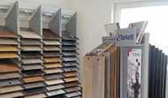 Showroom - Laminat, Elastische Bodenbeläge